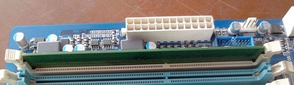 RAM in RAM-slots