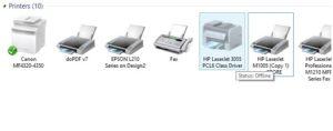 Printing error: Is your printer offline [Solved]