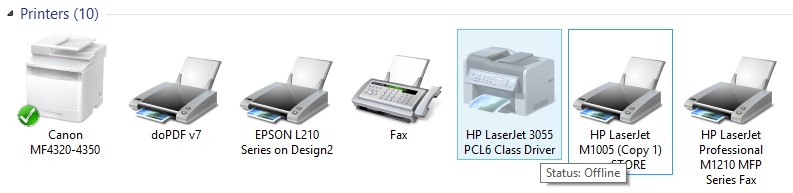 printing error is your printer offline solved