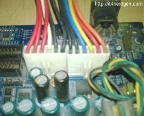 SMPS p8-P9 connectors