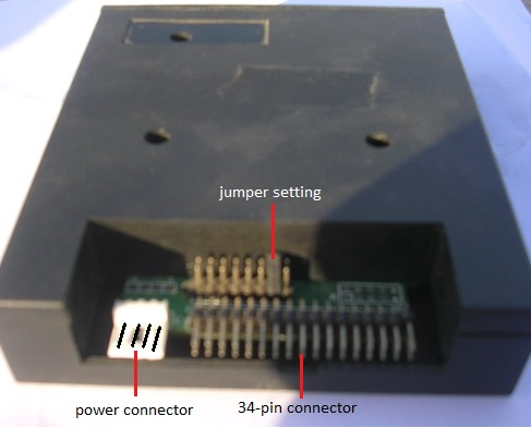 USB-Floppy-emulator-interface-connectors