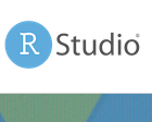 Logo of RStudio Software