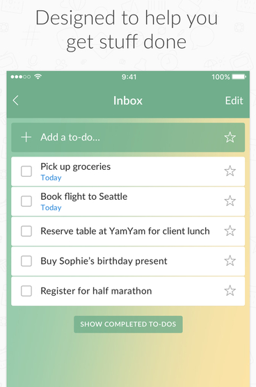 to-do-list-in-wunderlist-app