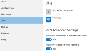 how to setup vpn connection in windows 10 img