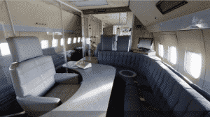 WebVR Airforce one 3D view