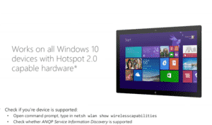 What is hotspot 2.0-How to connect to windows 10 devices