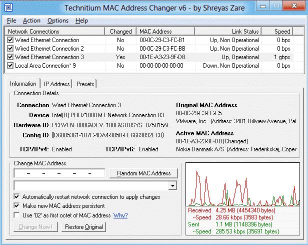 MAC-address-changer-windows-OS