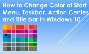 How to Change Color Settings in Windows 10 [with screenshots]