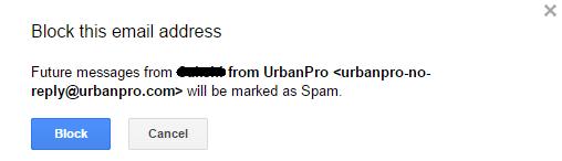 block-email
