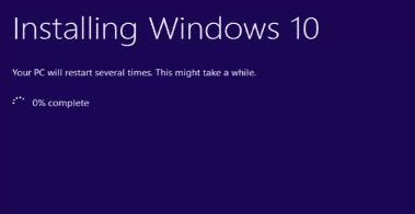resinstalling windows10