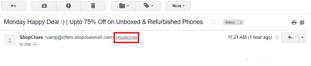 unsubscribe-at-top