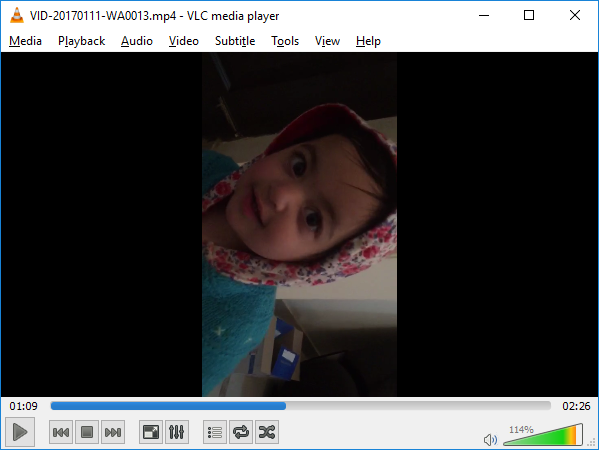rotate video in VLC Media Player