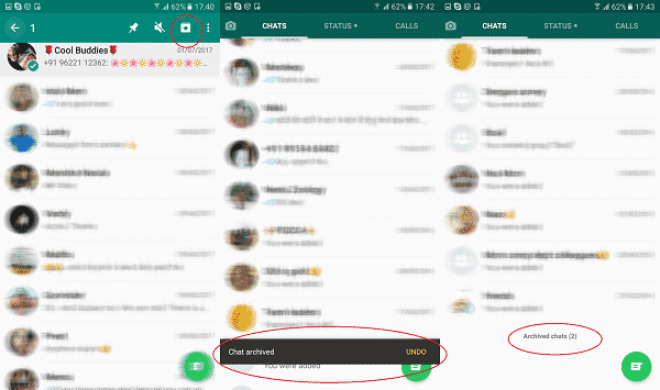 archive-chat settings whatsapp
