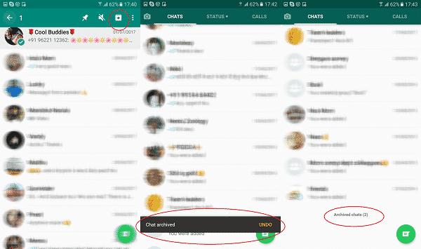 archive-chat settings whatsapp