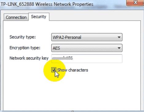 show-network-key