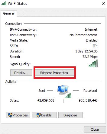 Wi-Fi-status