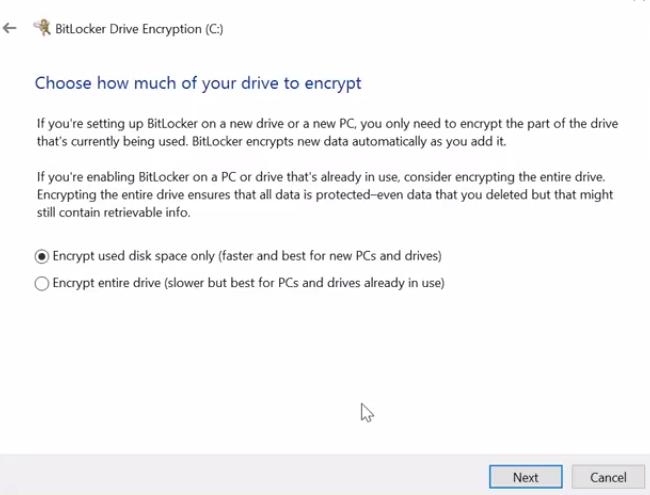 encrytion-options