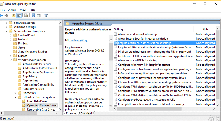 nextgen template editor - how to setup bitlocker encryption in windows10 guide to