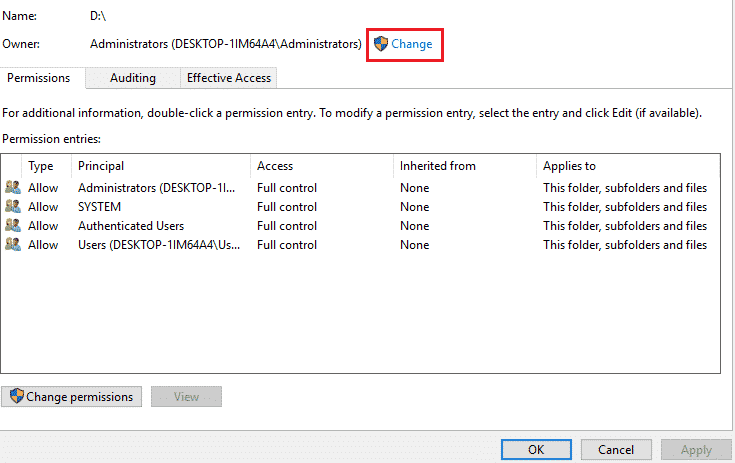 You Don't have Permission to Save in this Location: Windows