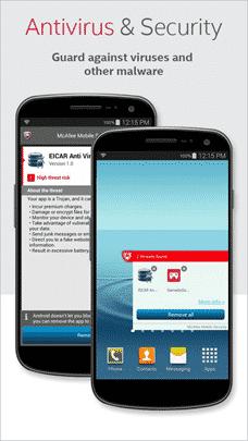 screenshot of av-security-app