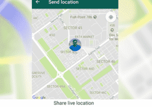 Track your Friend's Location with WhatsApp Share Live Location Feature