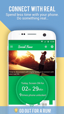 screenshot of social-fever-app