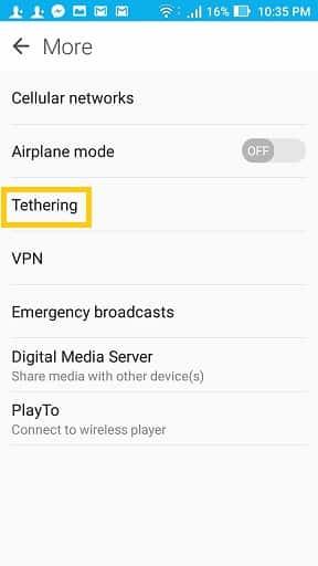 phone-tethering