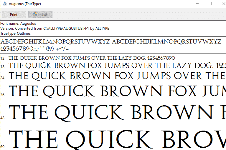 how to add fonts to word windows 10