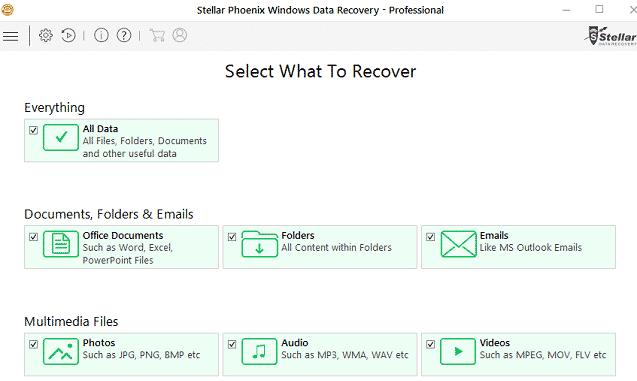 stellar-recovery options