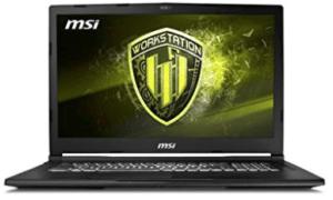 MSI CAD laptop