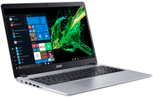 front view of Acer Aspire cheap laptop