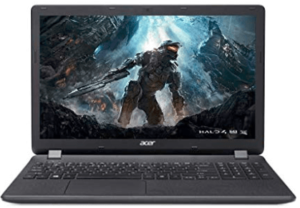 front view of Acer Aspire