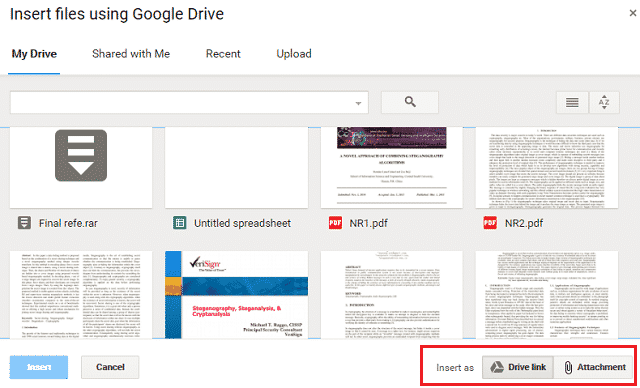 insert-files-using-google-drive