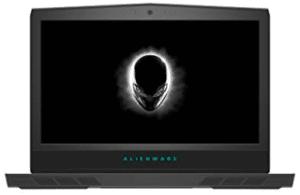 image of alienware hacking laptop