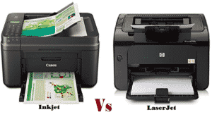 Inkjet Vs Laserjet Printer-Which Printing Technology is Best for You