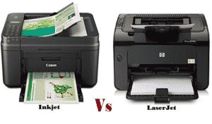 Inkjet Vs Laserjet Printer-Which Printing Technology is Best for You