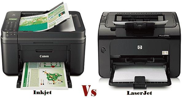 inkjet vs laserjet printer which printing technology is best for you. Black Bedroom Furniture Sets. Home Design Ideas