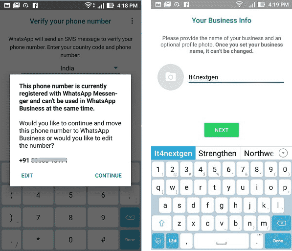 how to use same number whatsapp in two mobiles