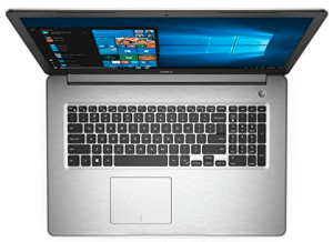 image of Dell laptop for data science