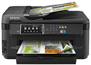 front view of Epson Workforce