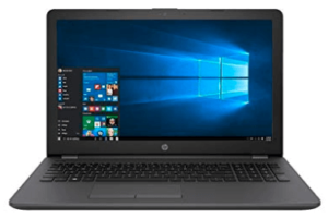 screenshot of HP Probook