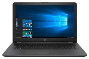 screenshot of HP Probook