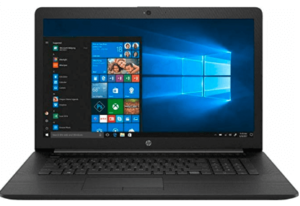 image of hp trading laptop in 17 inches