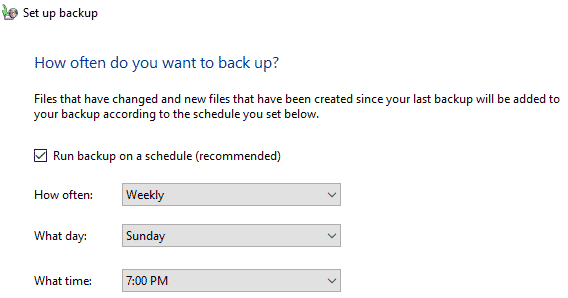 back-up-schedule