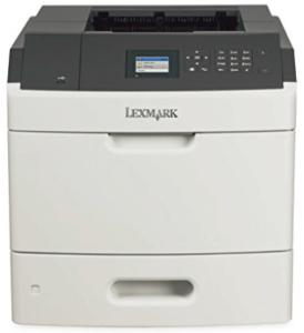 screenshot of lexmark-laser-printer