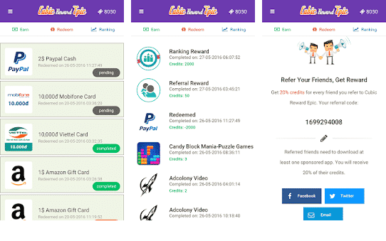 10 Apps to Earn Free Google PlayStore Credit and Gift Cards