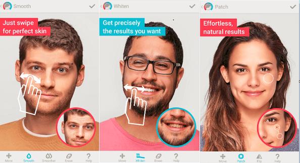 image of facetune app