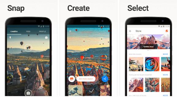 image showing prisma app's screenshot