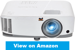 front-view of viewsonic projector