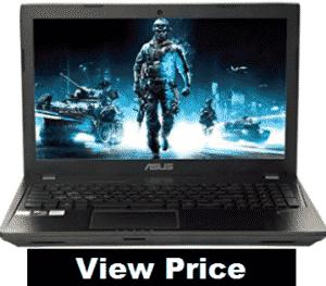 laptop screen showing game